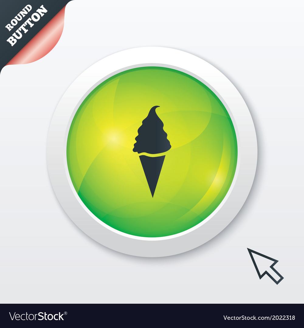 Ice cream sign icon sweet symbol vector   Price: 1 Credit (USD $1)