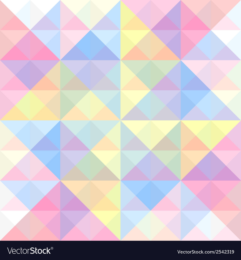 Colorful triangle background10 vector | Price: 1 Credit (USD $1)