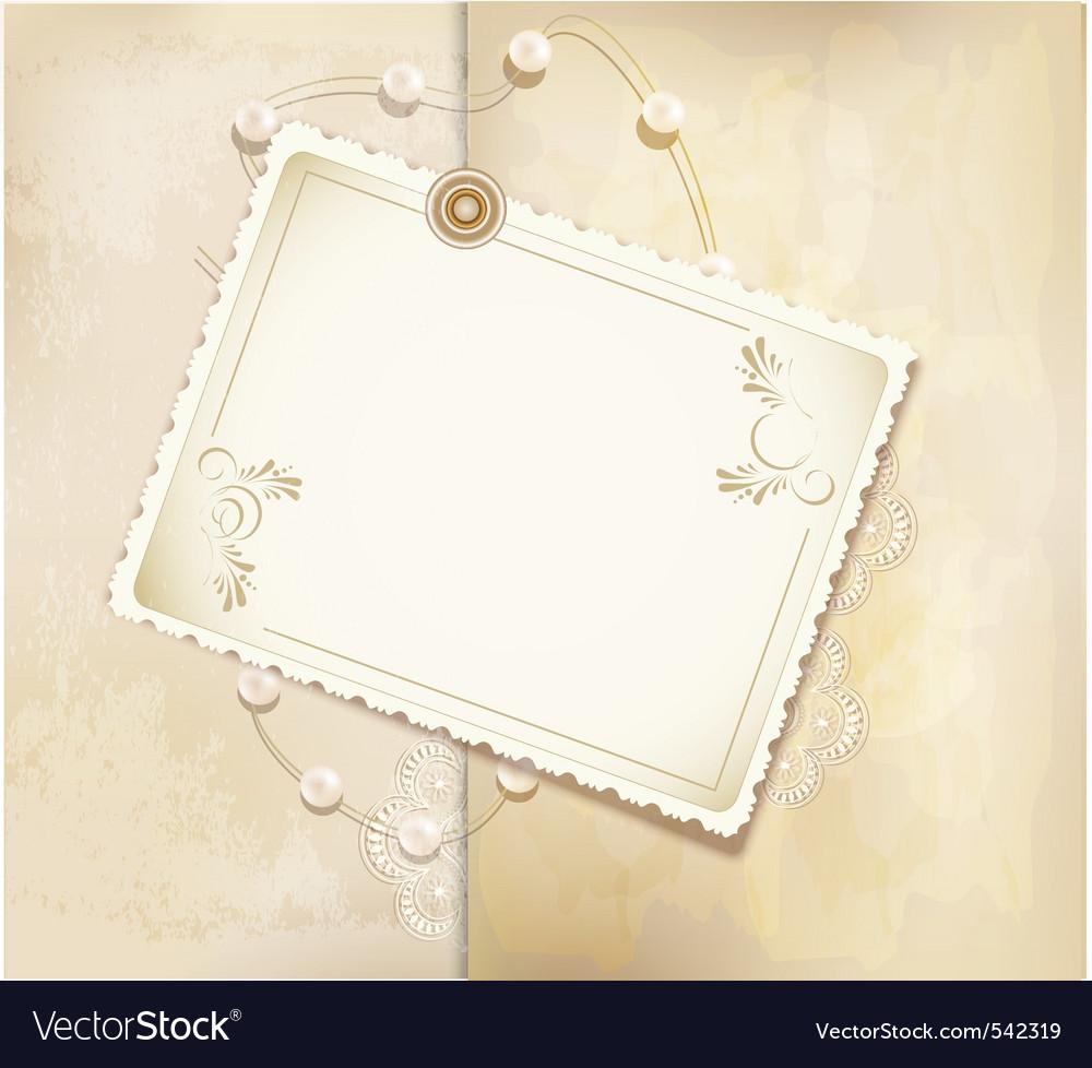 Gold retro background vector | Price: 1 Credit (USD $1)