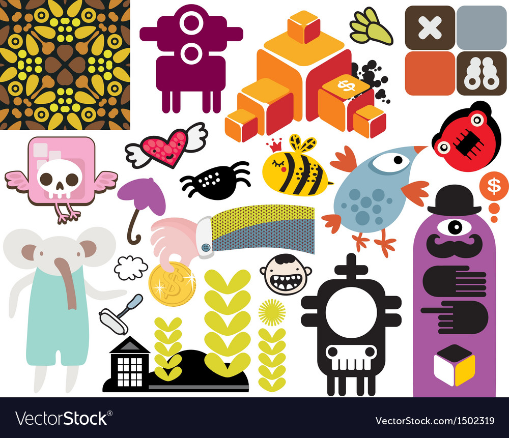 Mix of different images vol54 vector | Price: 1 Credit (USD $1)