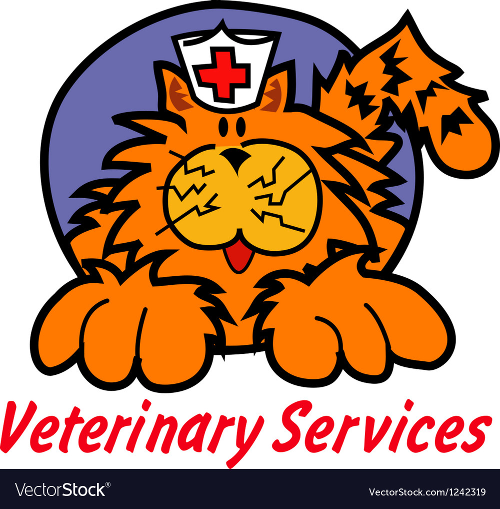 Veterinary services vector | Price: 1 Credit (USD $1)