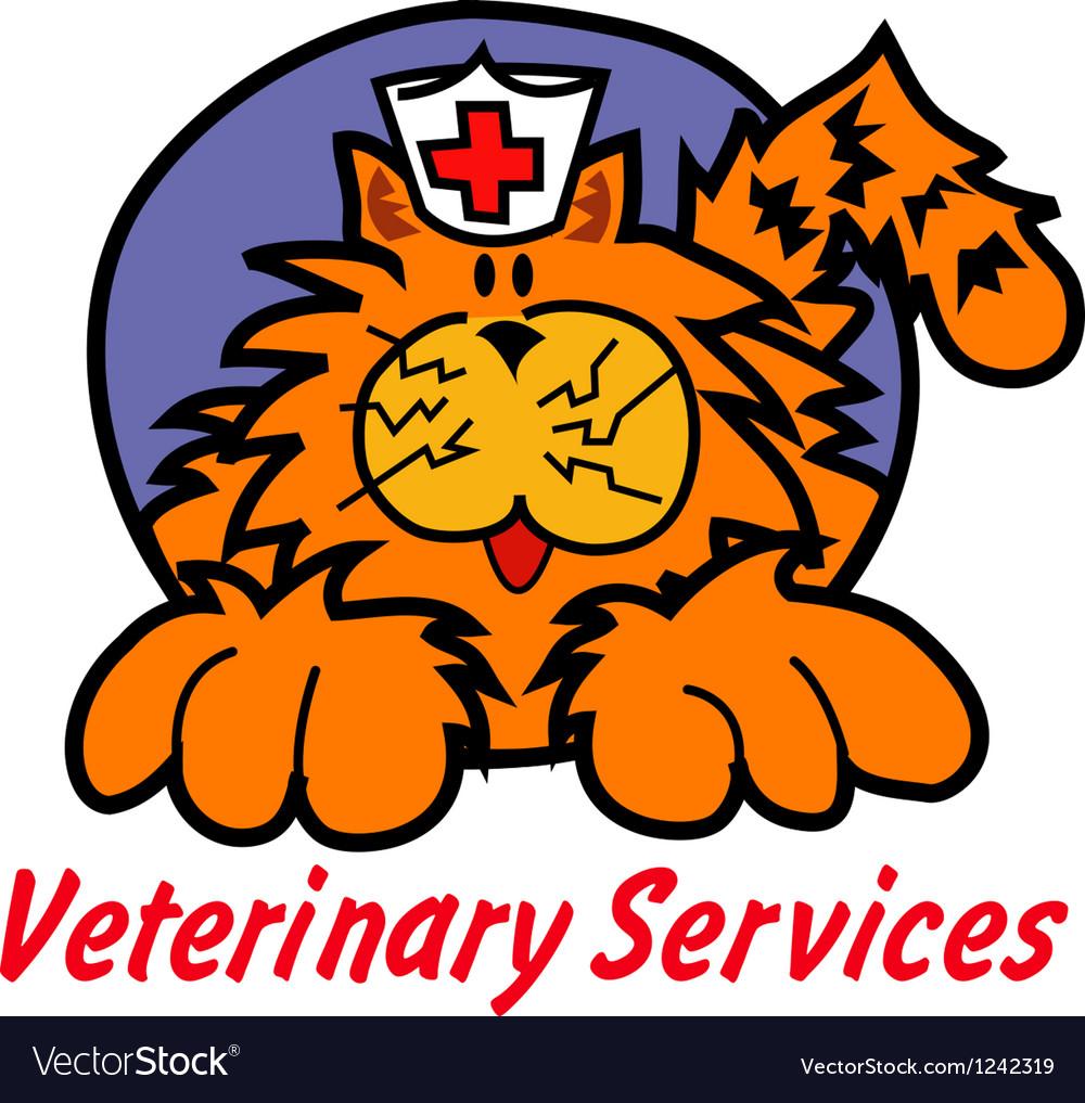 Veterinary services vector | Price: 1 Credit (USD $1)