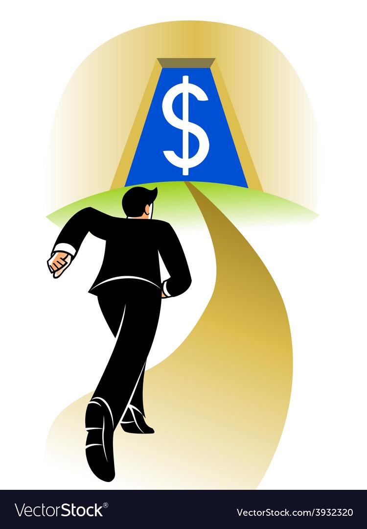 Go to big money vector | Price: 1 Credit (USD $1)