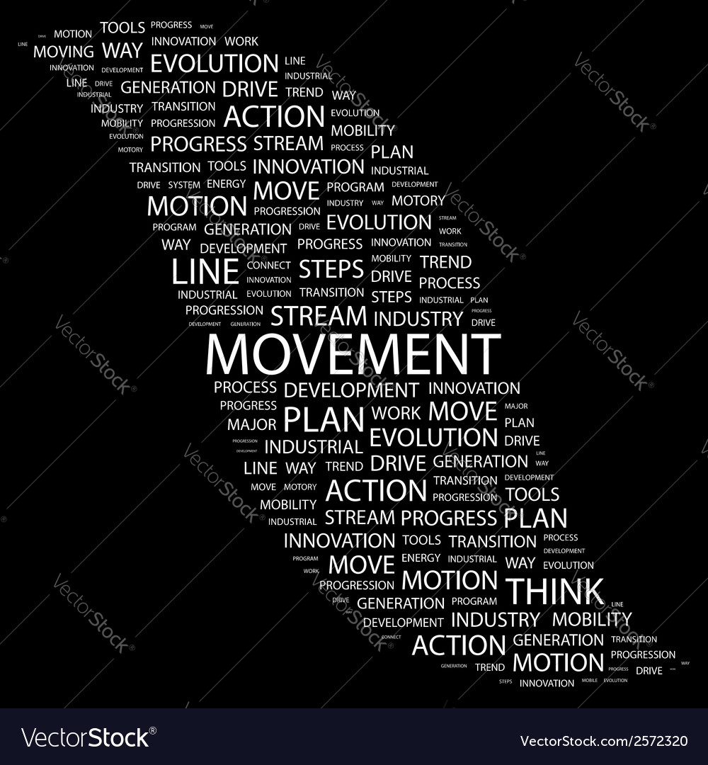 Movement vector | Price: 1 Credit (USD $1)
