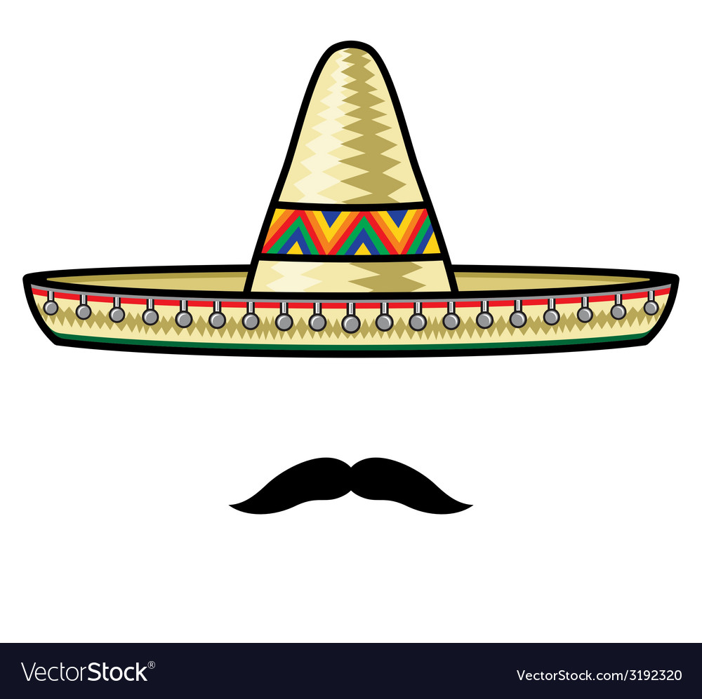 Sombrero2 resize vector | Price: 1 Credit (USD $1)