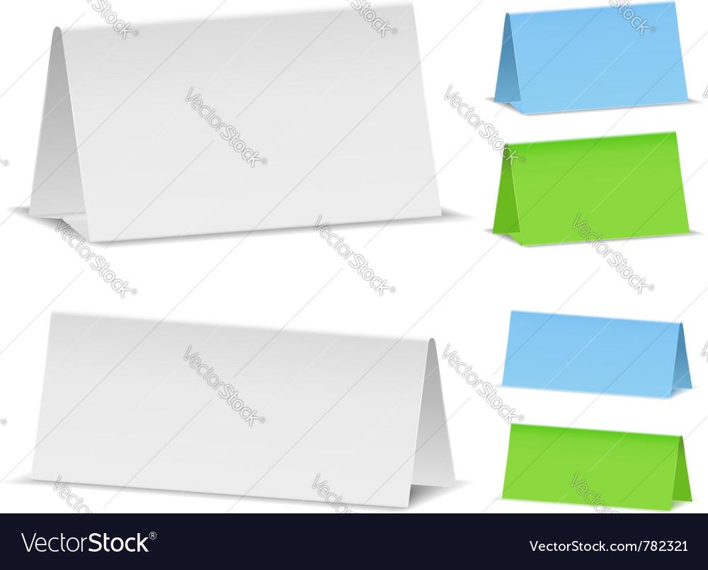Blank desktop calendars vector | Price: 1 Credit (USD $1)