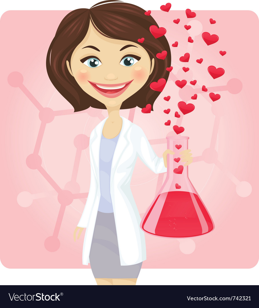 Chemistry of love vector | Price: 3 Credit (USD $3)