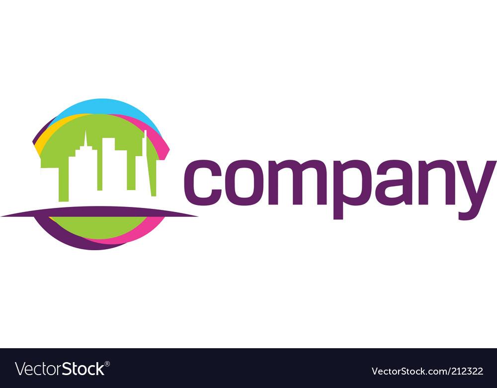 City travel logo vector | Price: 1 Credit (USD $1)