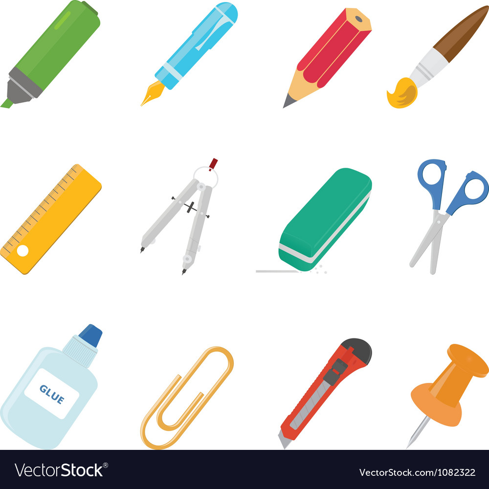 Equipment icons vector | Price: 1 Credit (USD $1)