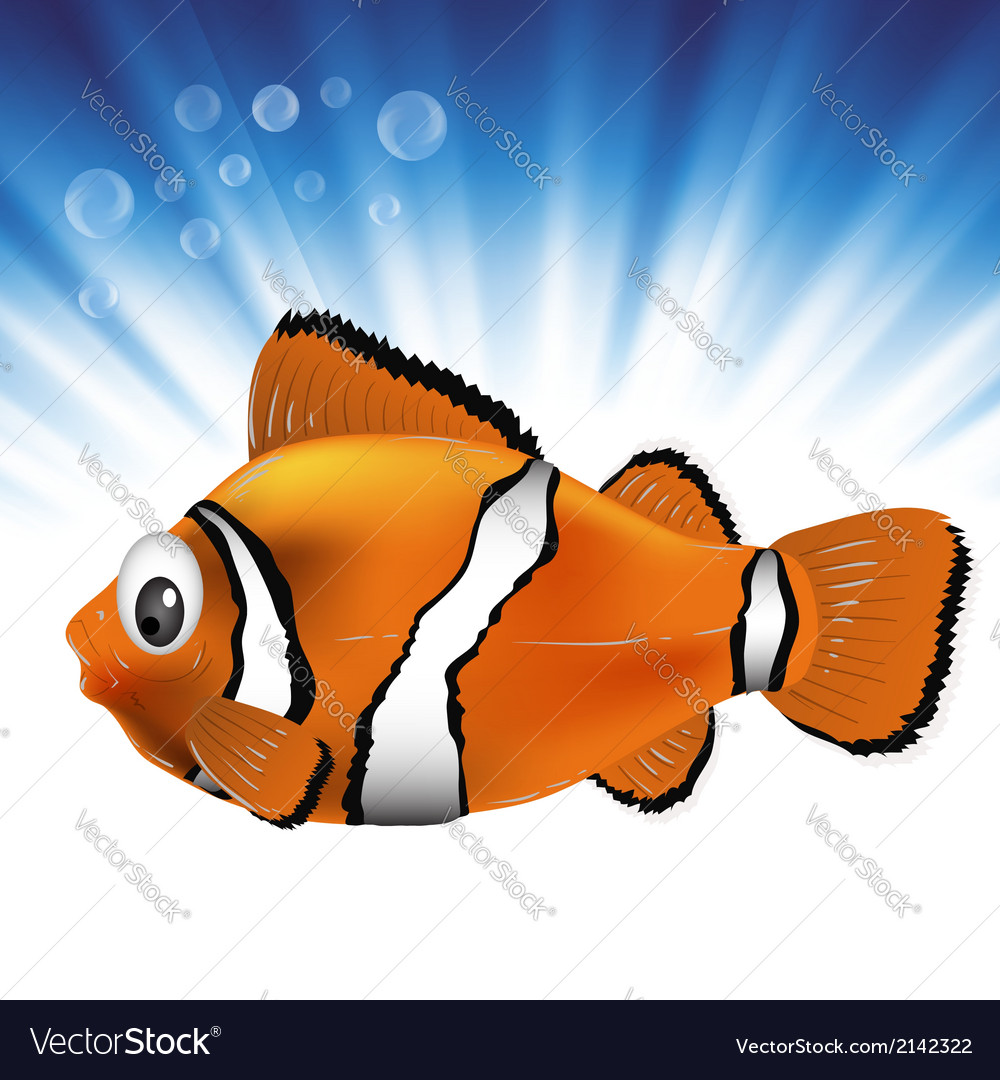 Sea fish vector | Price: 1 Credit (USD $1)