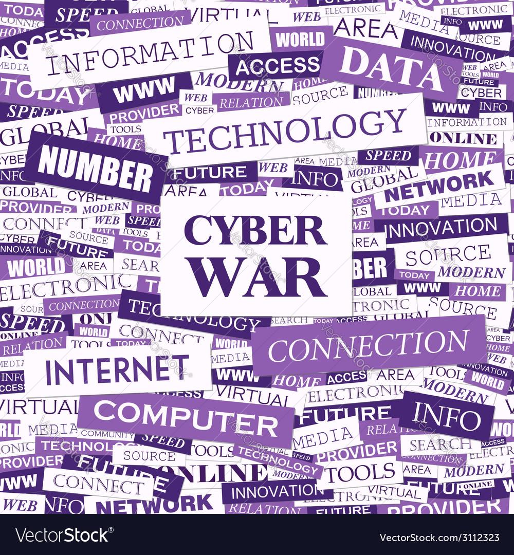 Cyber war vector | Price: 1 Credit (USD $1)