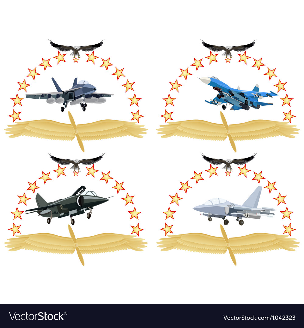 Modern military aircraft-1 vector | Price: 1 Credit (USD $1)