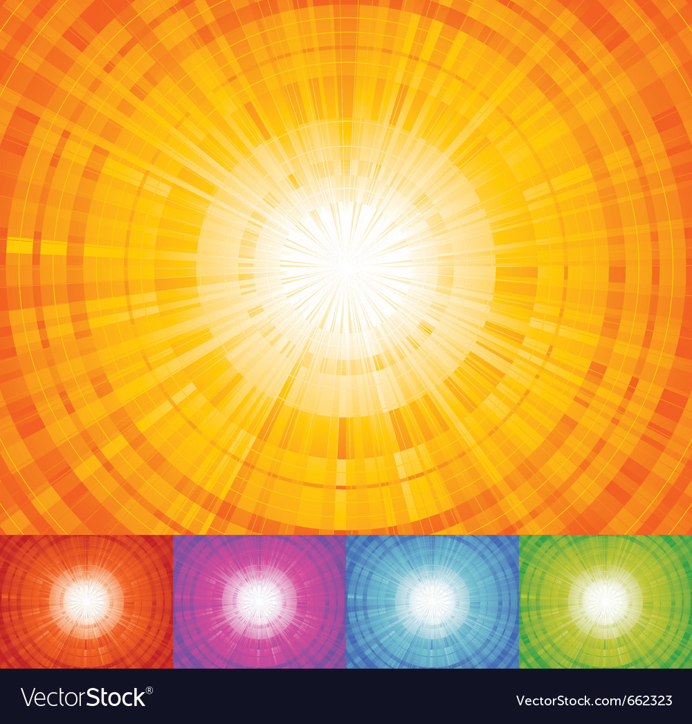 Sunbeam background vector | Price: 1 Credit (USD $1)