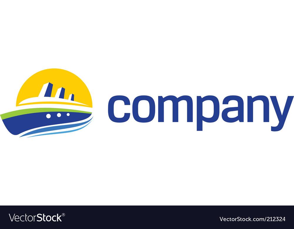 Boat logo vector | Price: 1 Credit (USD $1)