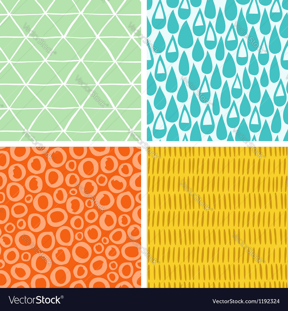 Doodle abstract patterns part 2 vector | Price: 3 Credit (USD $3)