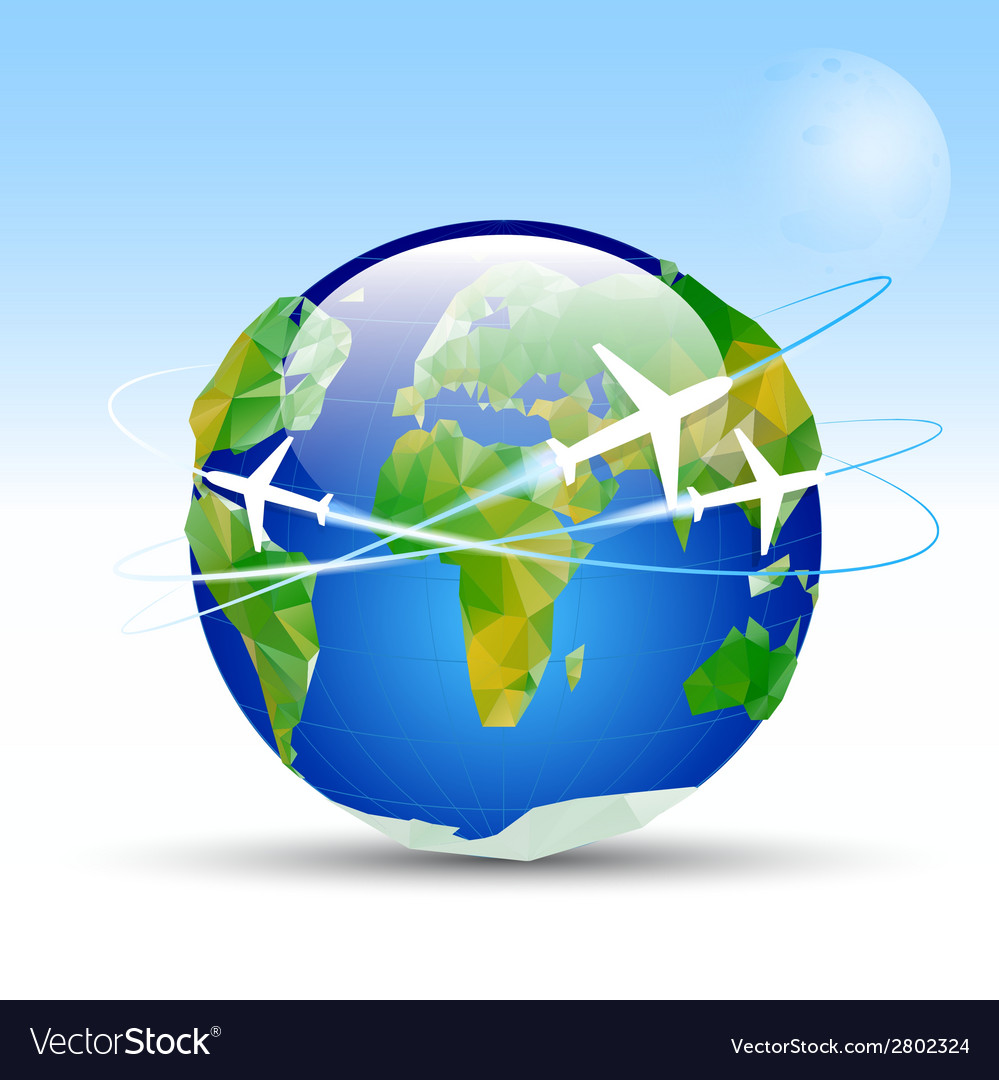 -earth-planet vector | Price: 1 Credit (USD $1)