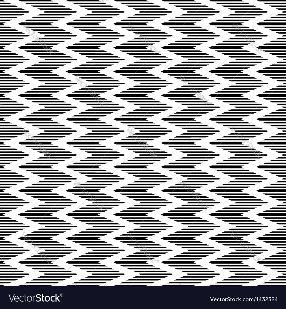 Zigzag striped texture vector | Price: 1 Credit (USD $1)