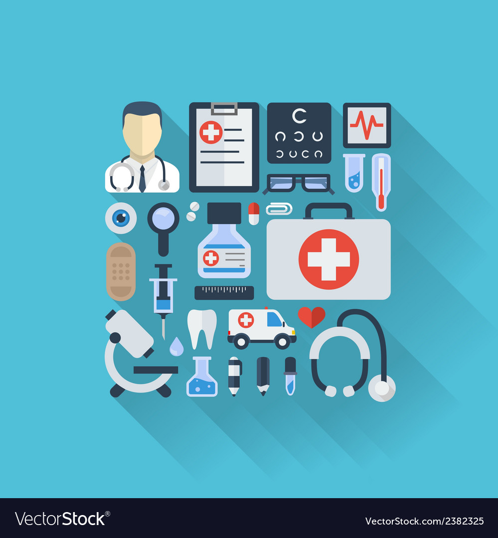 Abstract medicine background vector | Price: 1 Credit (USD $1)