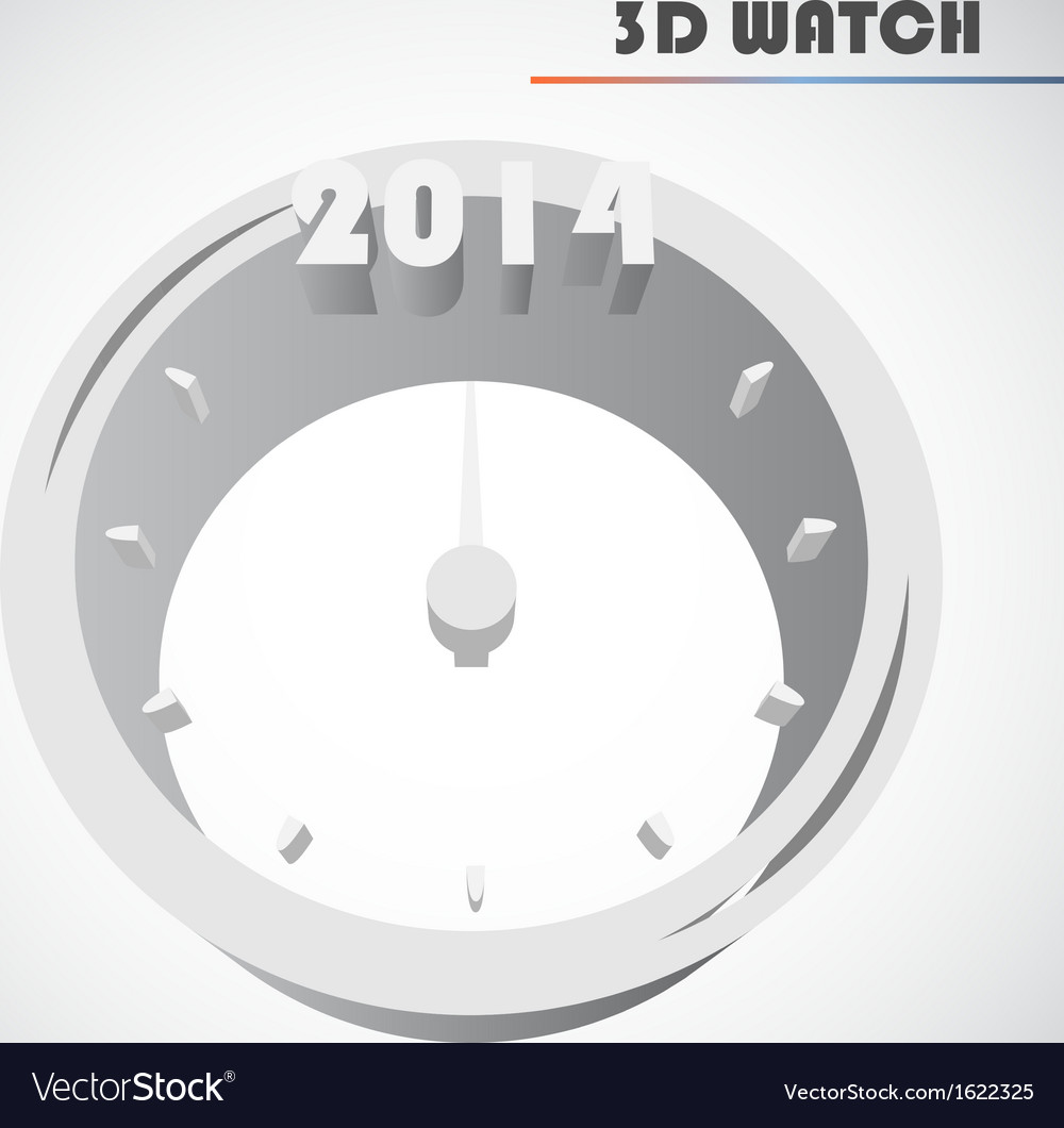 New years clock vector   Price: 1 Credit (USD $1)