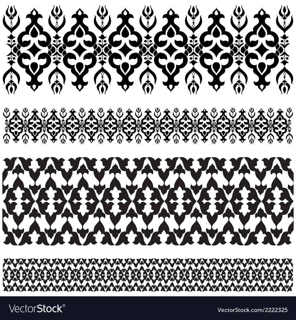 Ottoman motifs design series with thirty seven vector | Price: 1 Credit (USD $1)