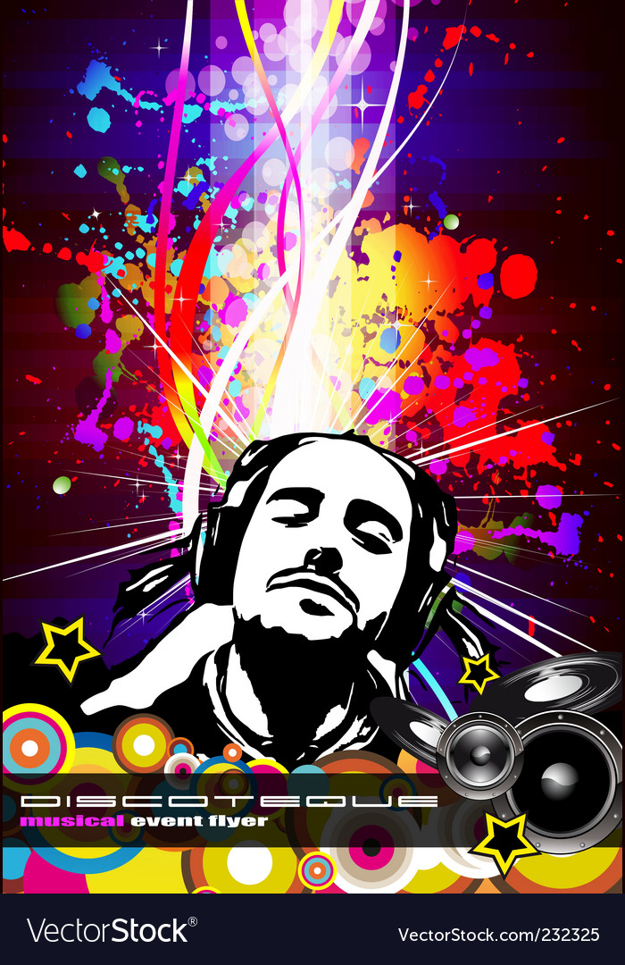 Party poster vector   Price: 3 Credit (USD $3)