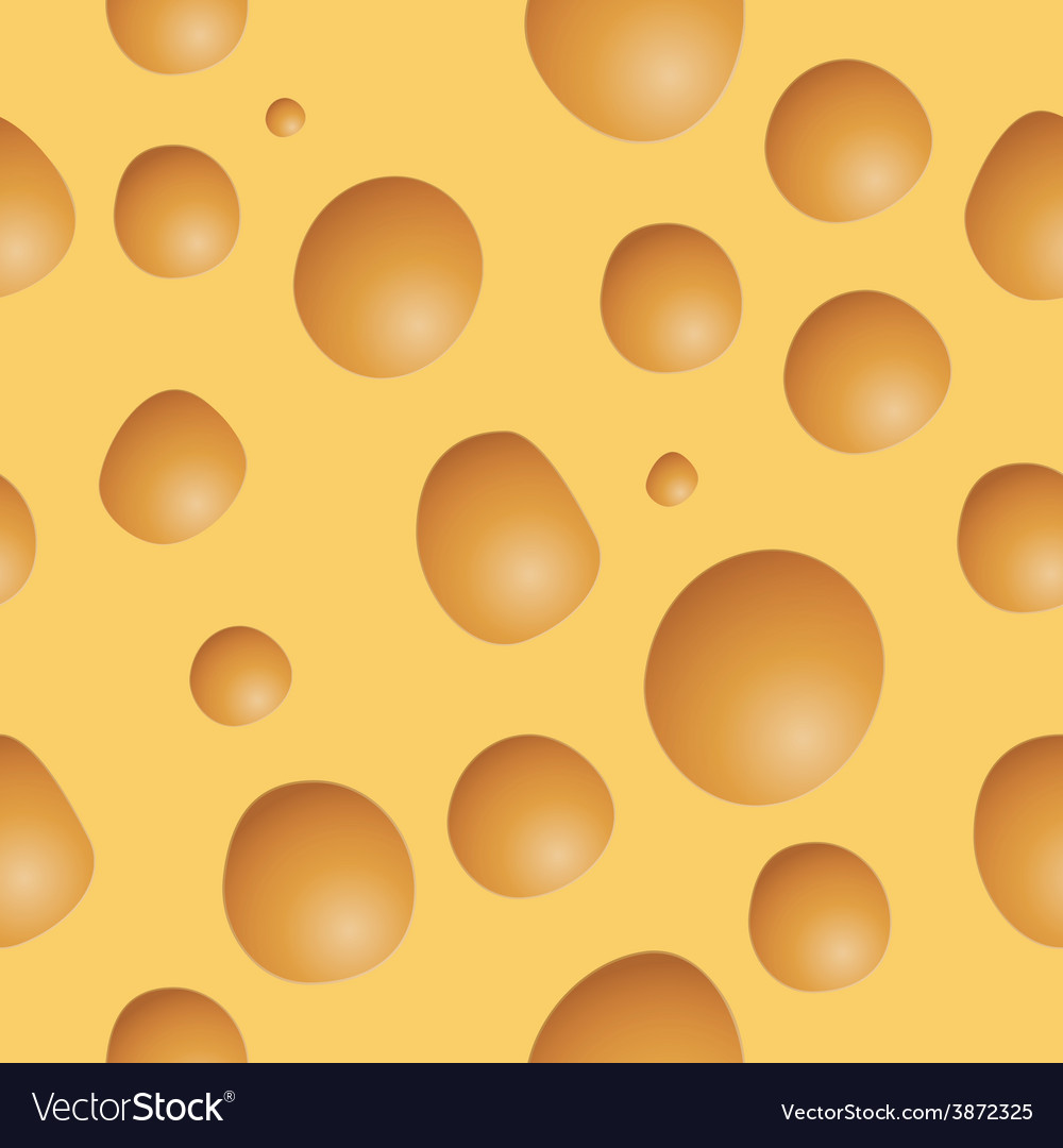 Seamless cheese background vector | Price: 1 Credit (USD $1)