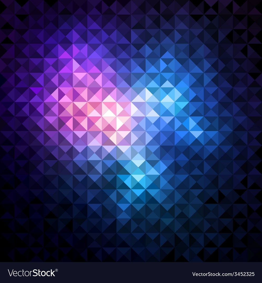 Shiny mosaic background vector | Price: 1 Credit (USD $1)