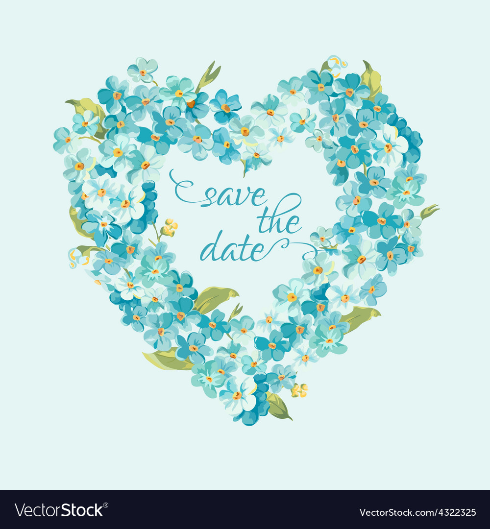 Wedding invitation card - save the date vector | Price: 1 Credit (USD $1)