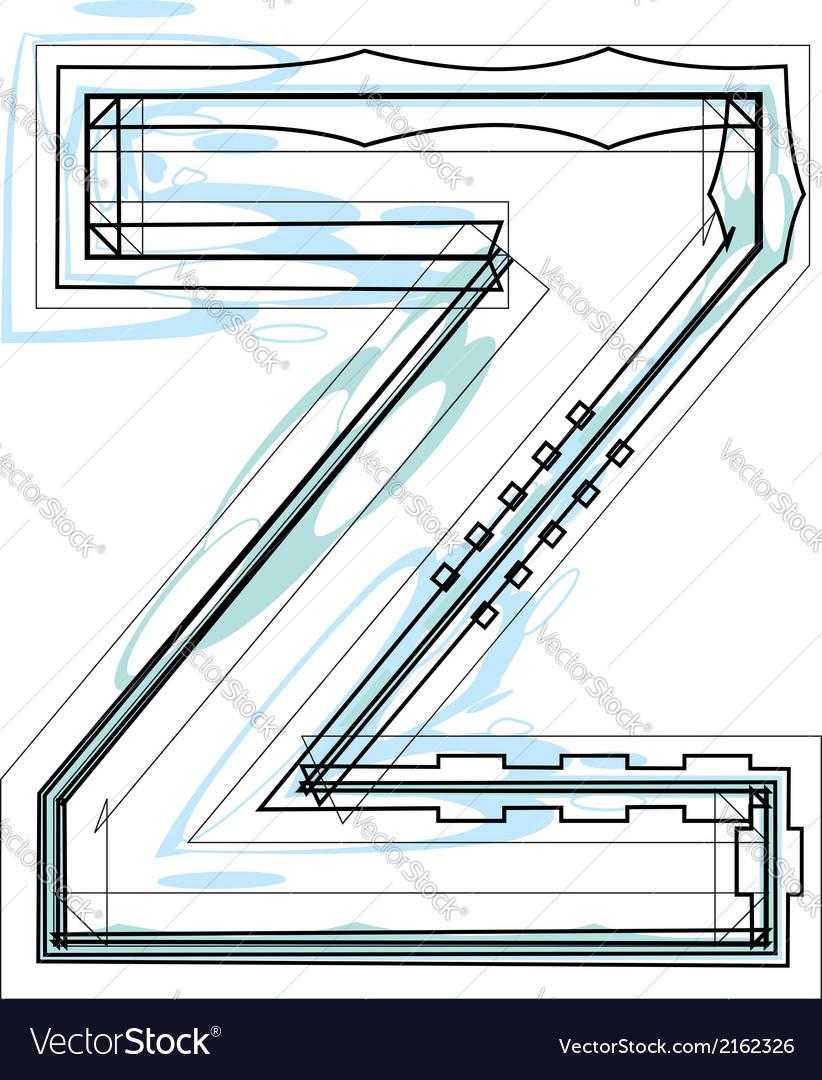 Font letter z vector   Price: 1 Credit (USD $1)