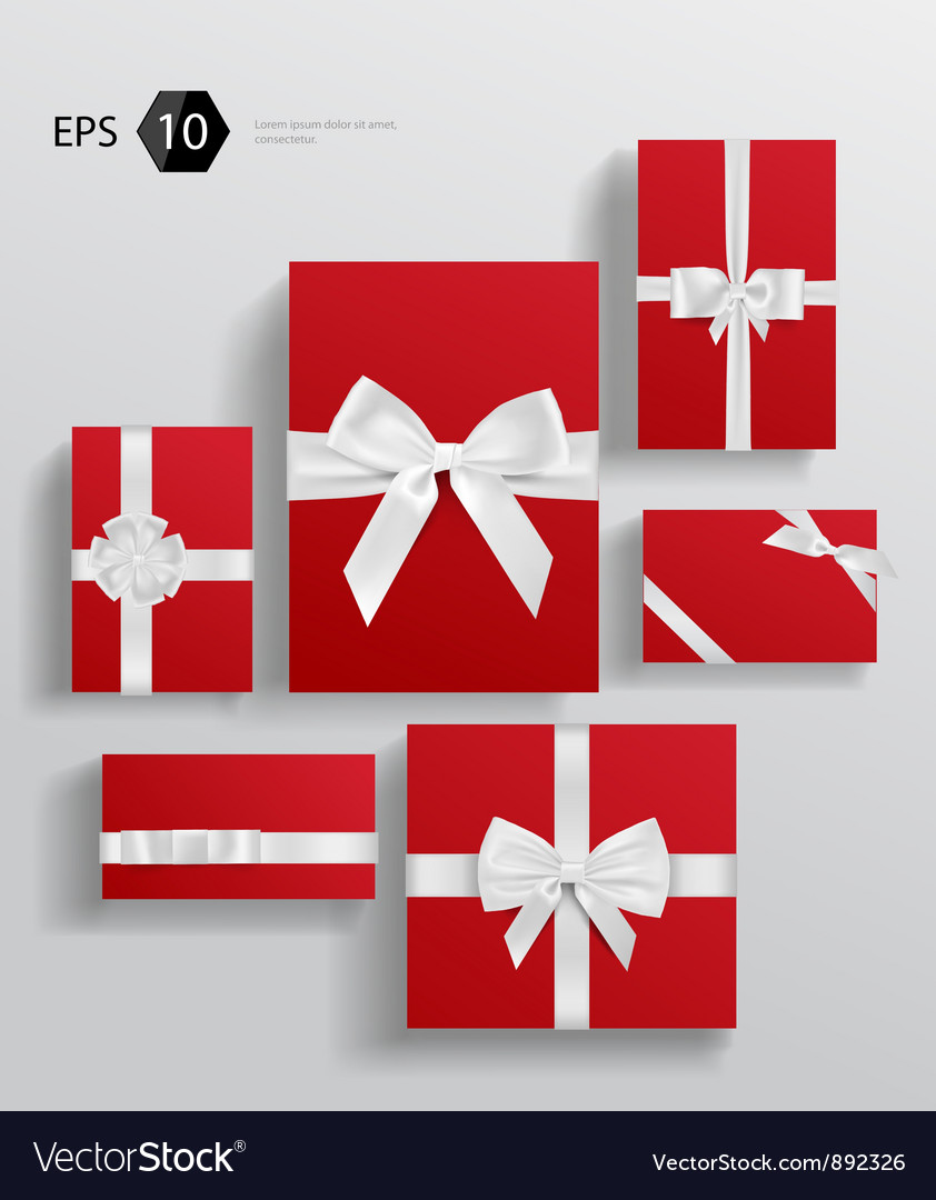 Gift wrapping collection vector | Price: 3 Credit (USD $3)
