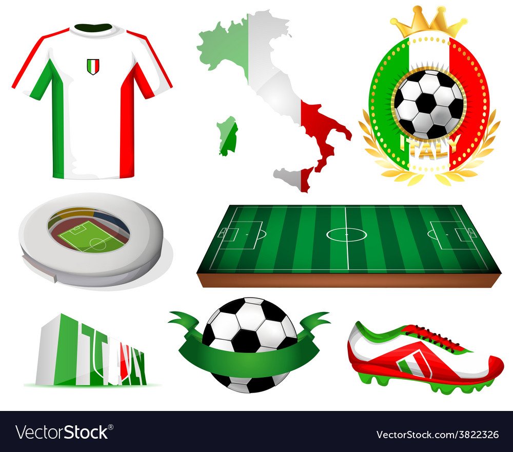Italy soccer vector   Price: 1 Credit (USD $1)
