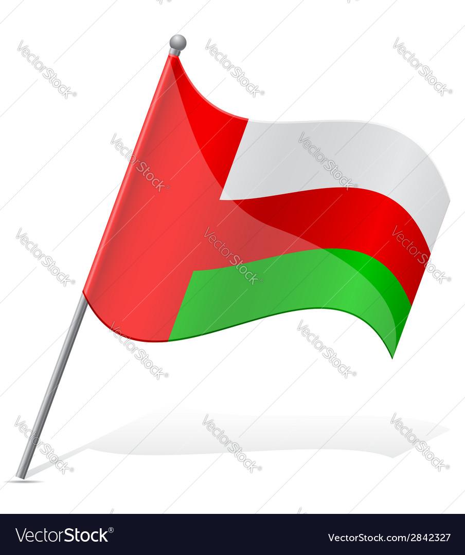 Flag of oman vector   Price: 1 Credit (USD $1)