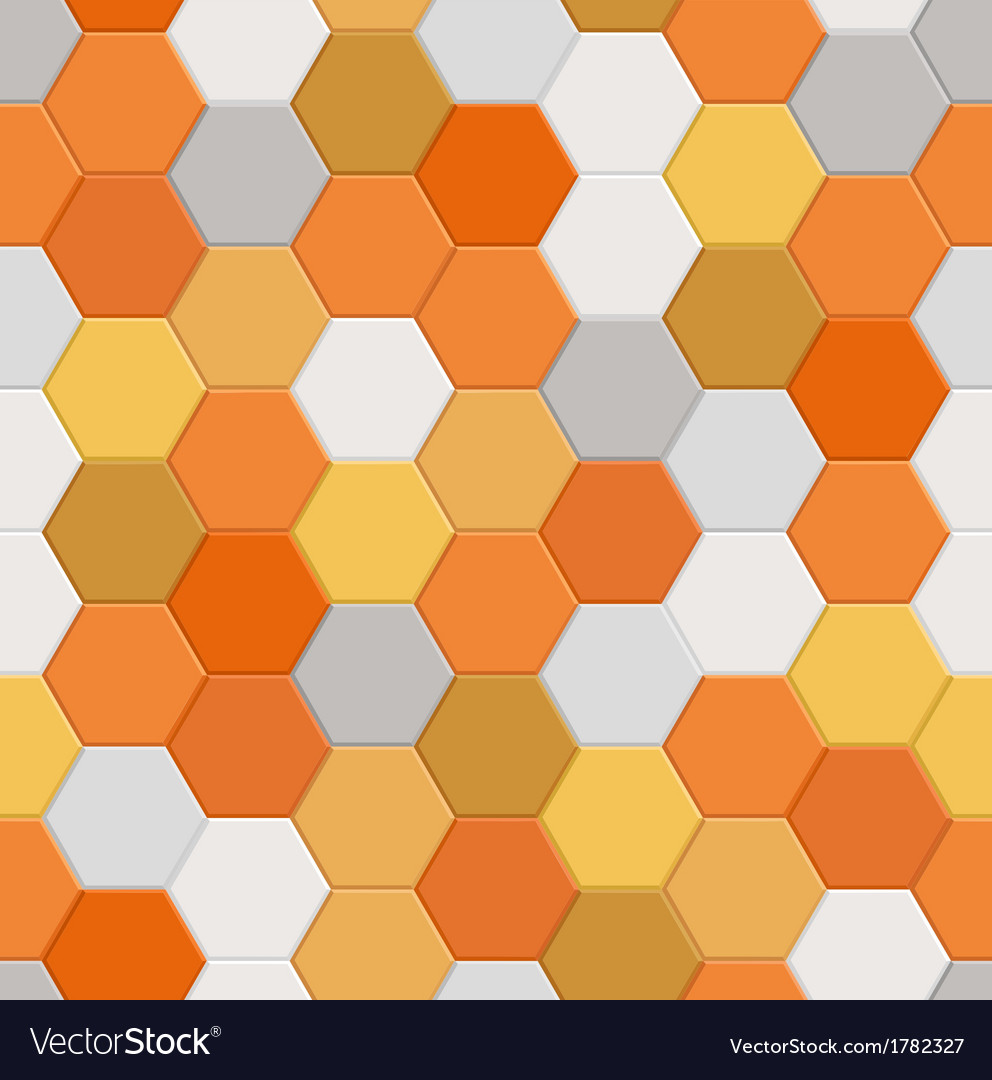 Seamless hexagonal pattern vector   Price: 1 Credit (USD $1)