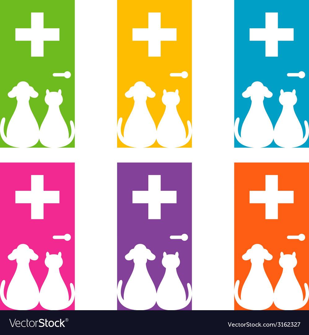 Veterinary logo vector | Price: 1 Credit (USD $1)