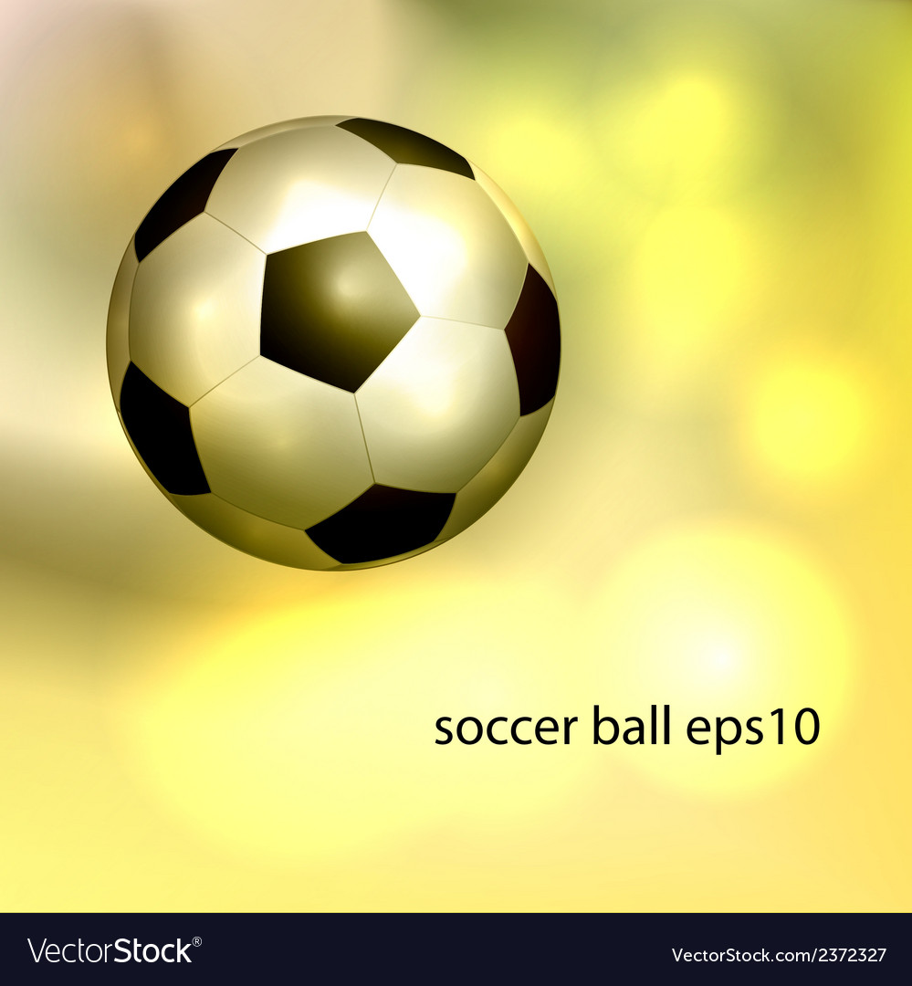 Vintage soccer ball vector | Price: 1 Credit (USD $1)