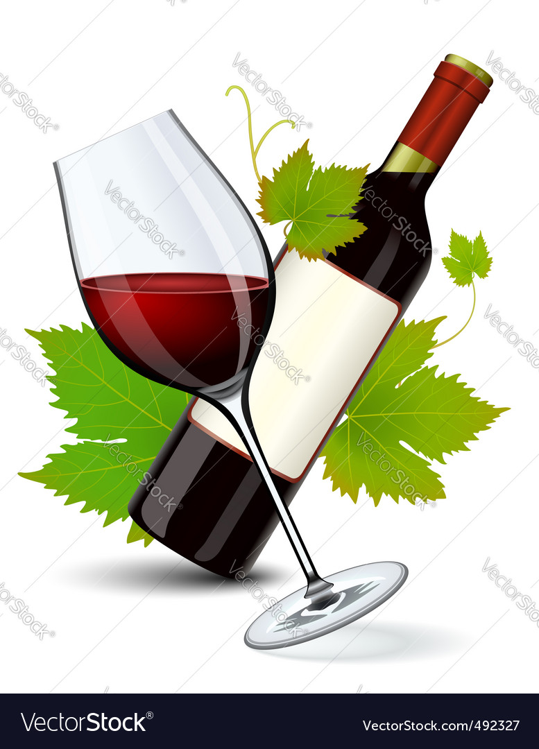 Wine vector | Price: 3 Credit (USD $3)