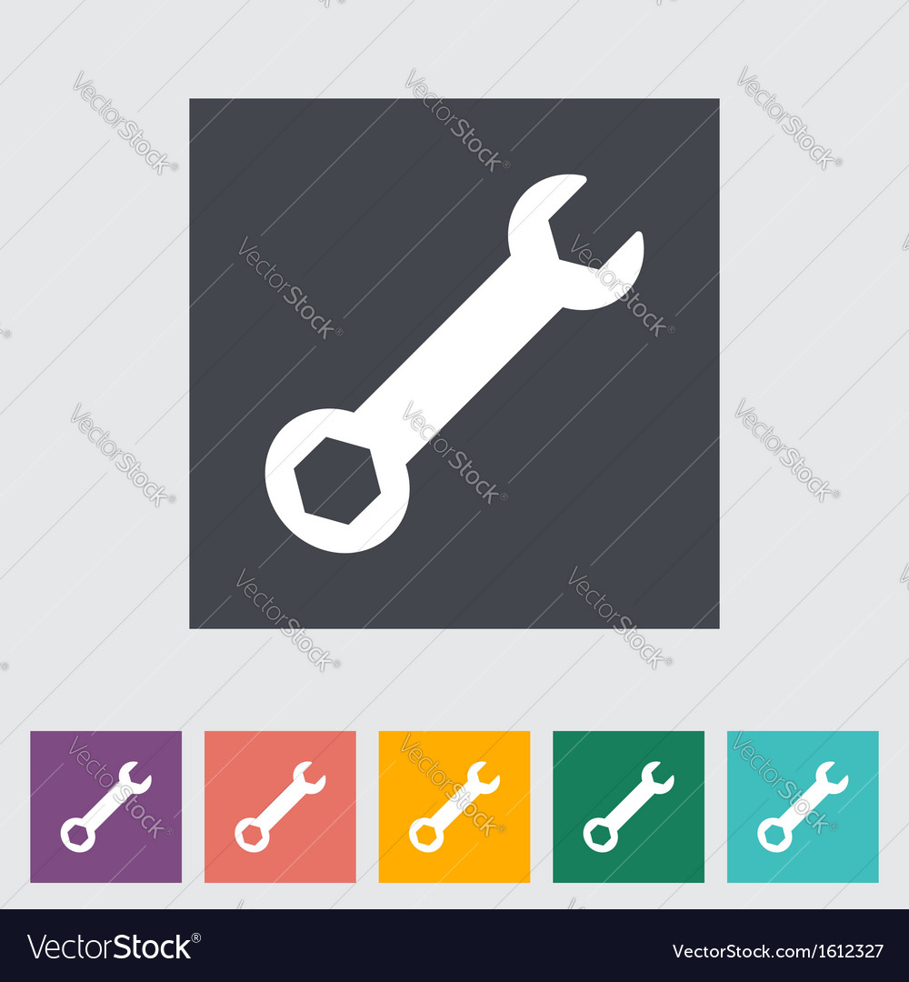 Wrench vector | Price: 1 Credit (USD $1)