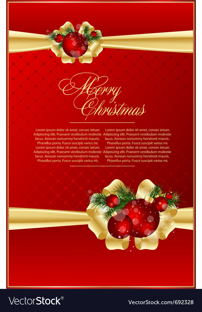 Elegant xmas balls vector | Price: 1 Credit (USD $1)