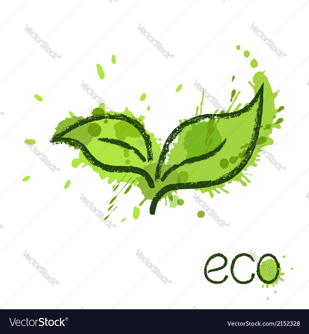 Green leaves vector   Price: 1 Credit (USD $1)