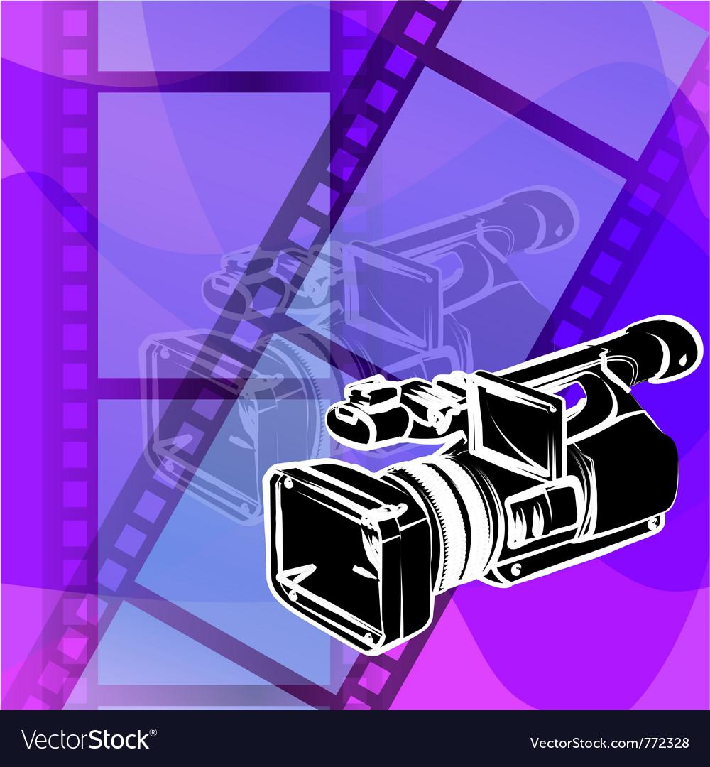Video camera vector   Price: 1 Credit (USD $1)