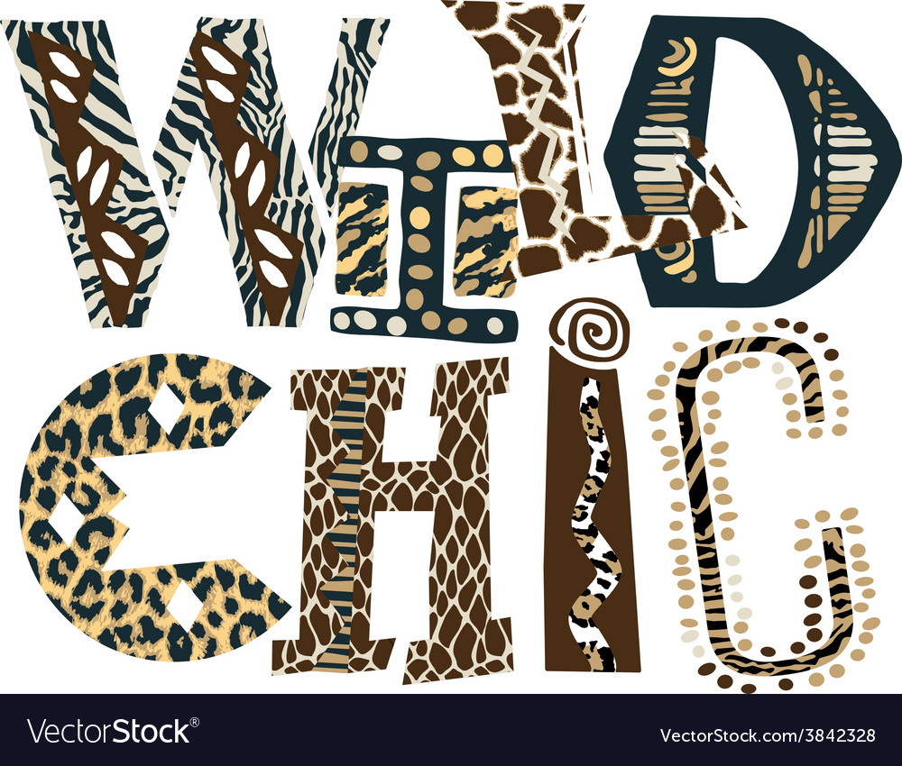 Wild chic vector | Price: 1 Credit (USD $1)