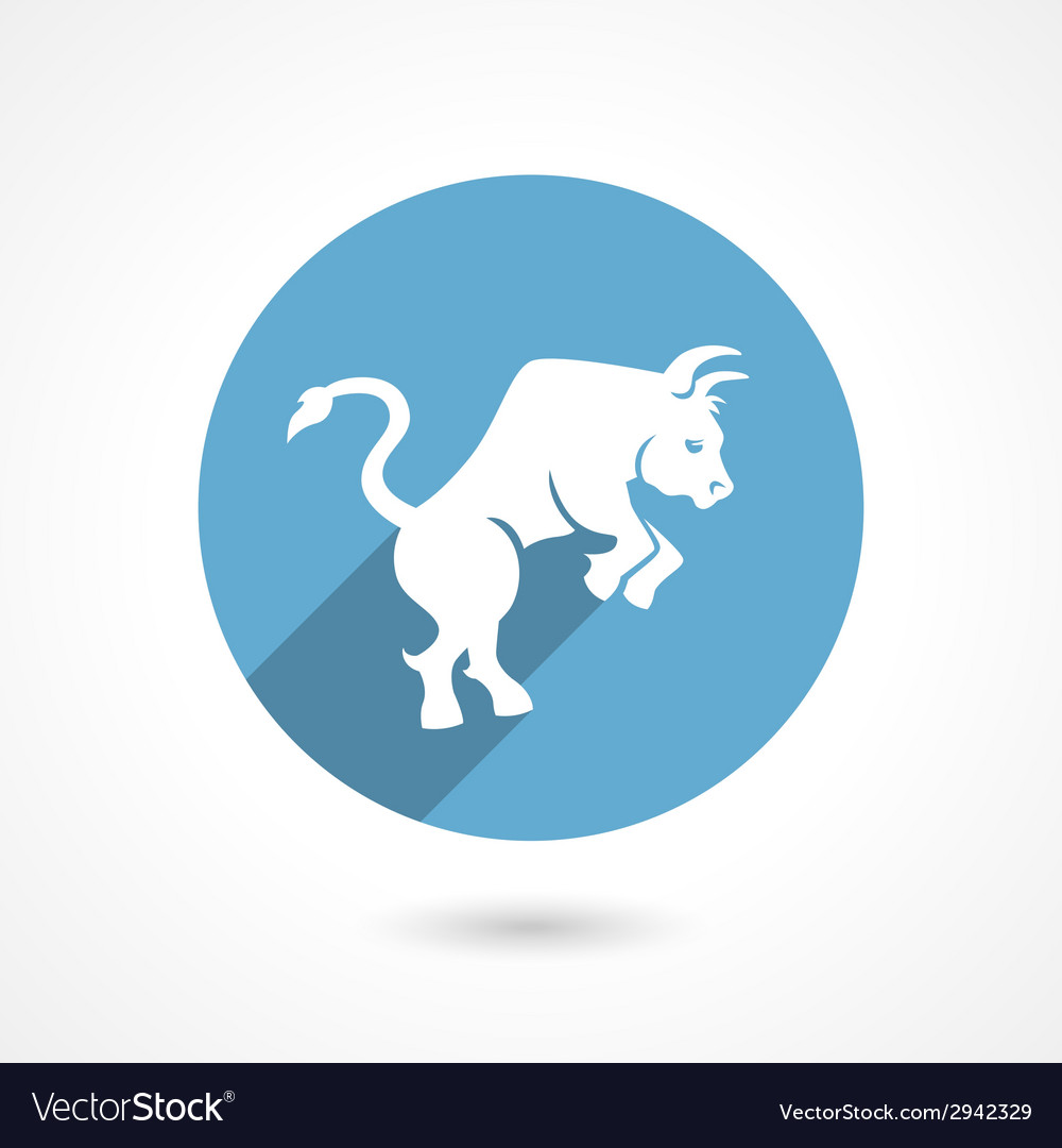 Bull icon vector | Price: 1 Credit (USD $1)