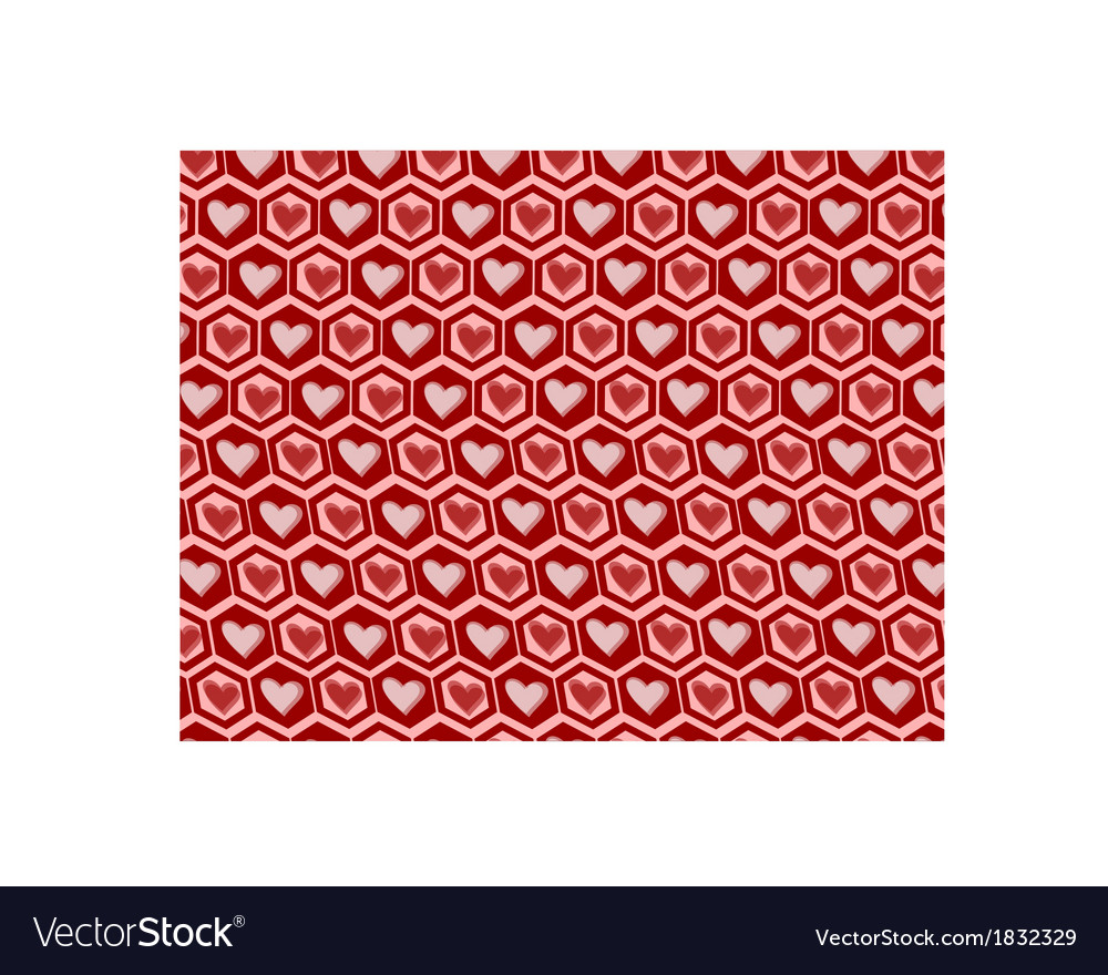 Love graphics pattern vector | Price: 1 Credit (USD $1)