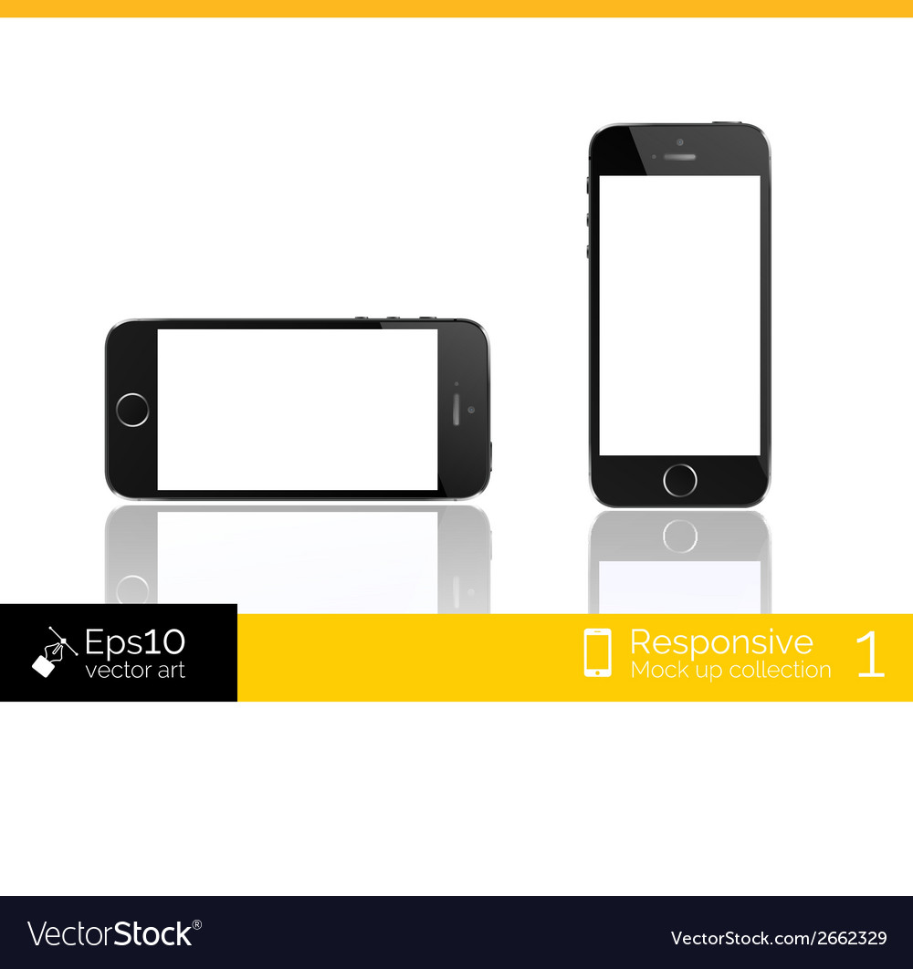 Modern smart phone isolation vector | Price: 1 Credit (USD $1)