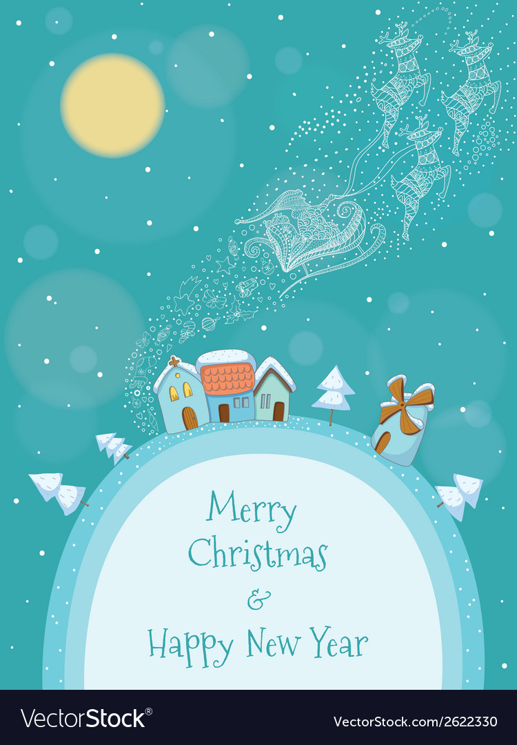 Christmas of santa vector | Price: 1 Credit (USD $1)
