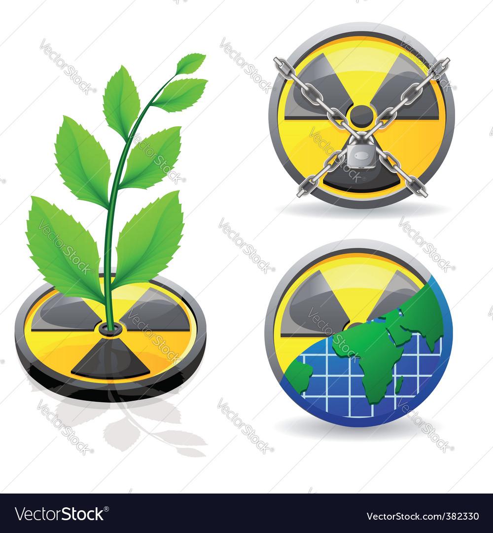 Radiation sign vector   Price: 1 Credit (USD $1)