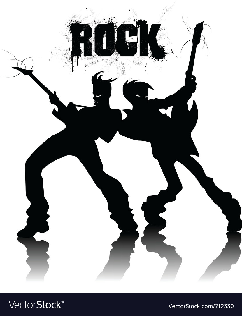 Rock and roll vector | Price: 1 Credit (USD $1)