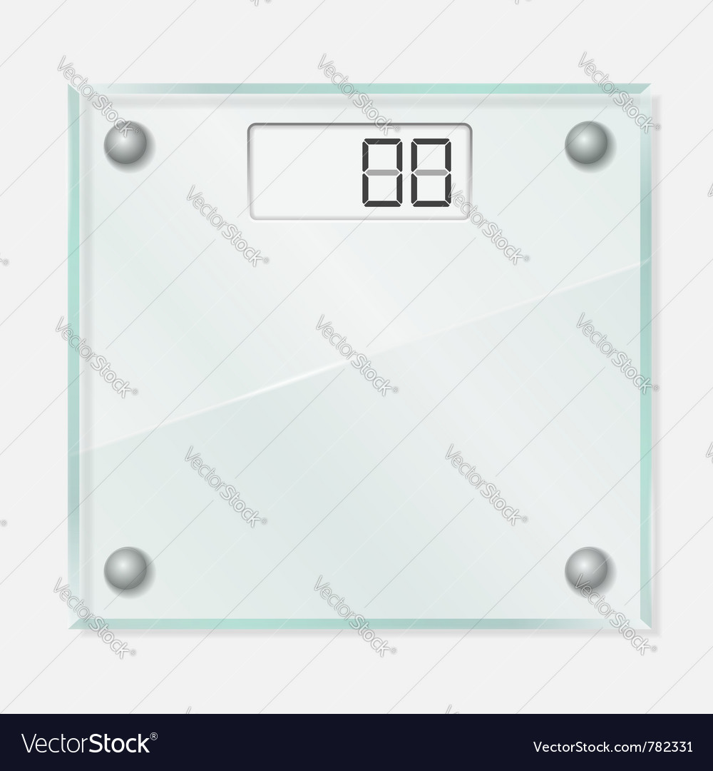 Glass scales vector | Price: 3 Credit (USD $3)