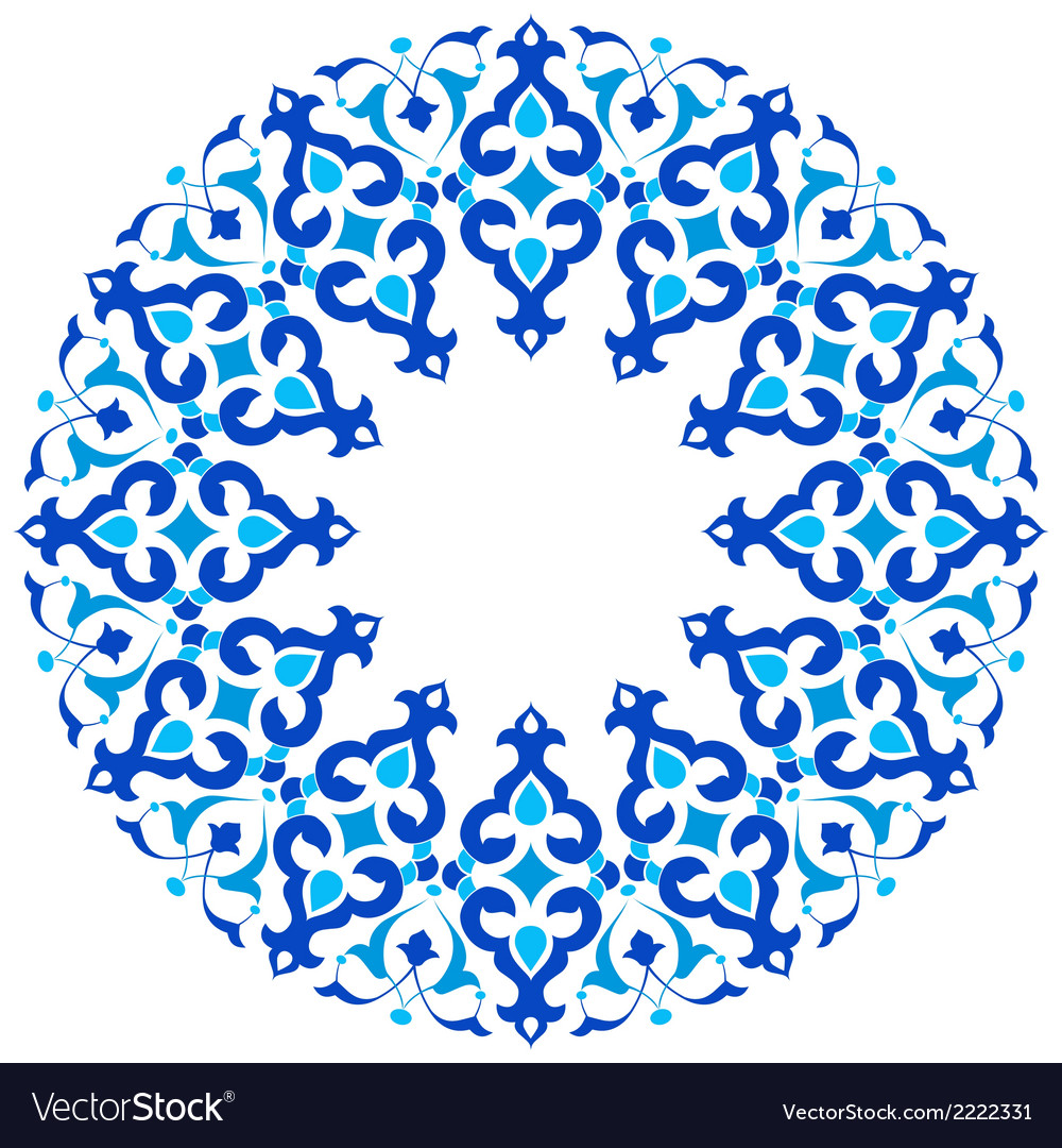 Ottoman motifs design series with thirty three vector | Price: 1 Credit (USD $1)