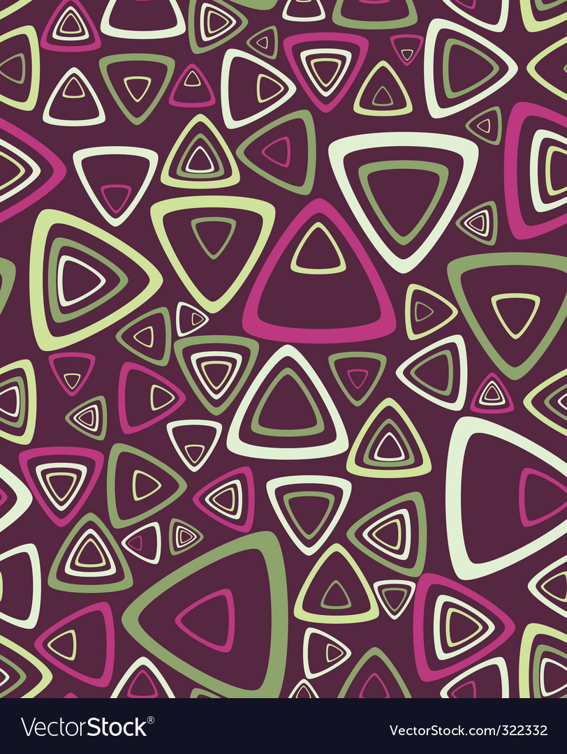 Triangle pattern vector